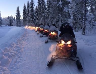 Snowmobile Safari into Arctic Wilderness