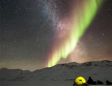 Night Reindeer Safari Aurora Hunting