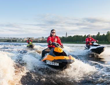 Jet Ski Dash in Kemijoki