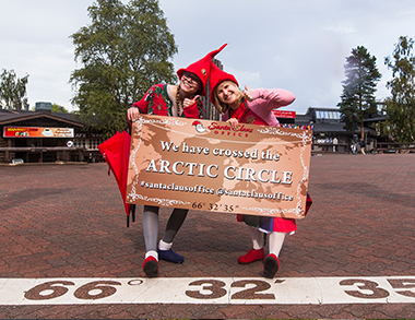 WELCOME TO THE ARCTIC CIRCLE